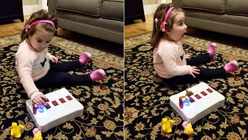 Image of Toy Teaches Kids Braille in Fun, Simple, and Affordable Way